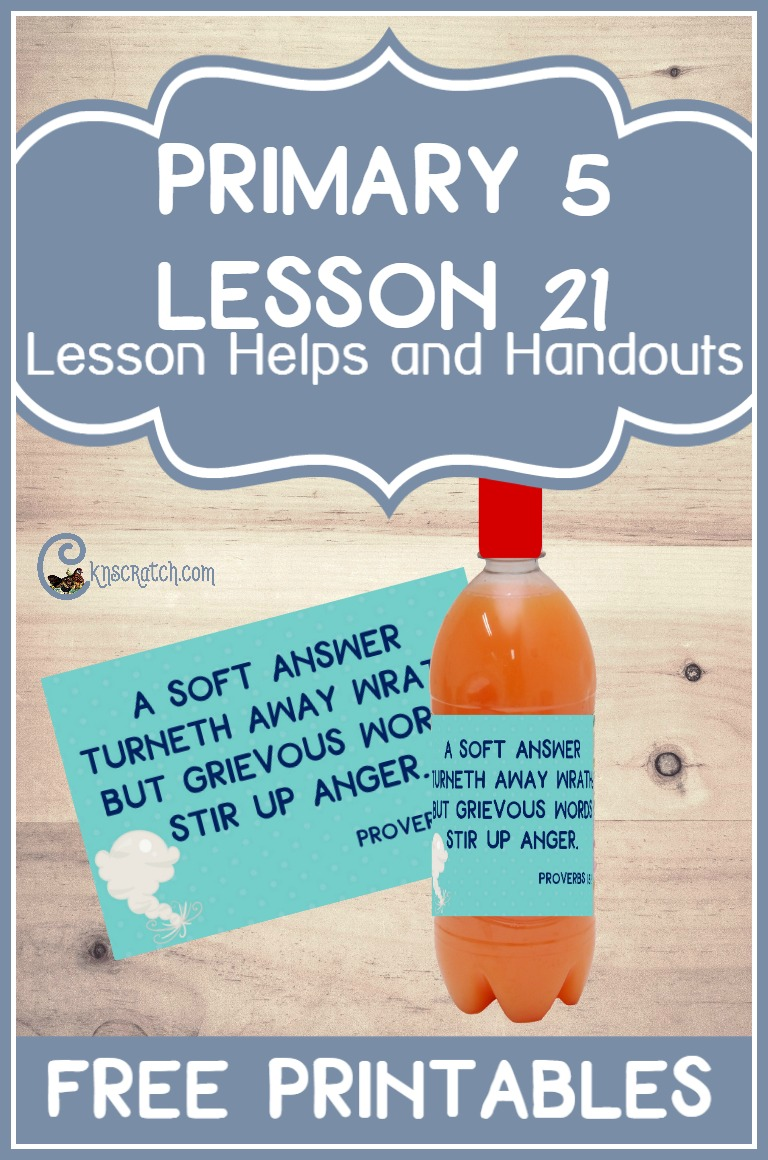 Oh this is a great idea! Free printable and ideas for teaching LDS Primary 5 Lesson 21: Joseph Smith Is Tarred and Feathered