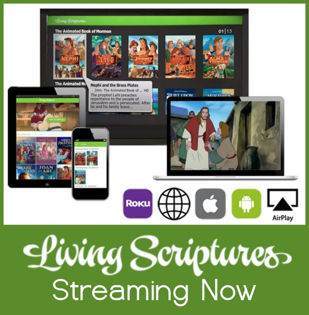 Love this- Stream Living Scriptures now