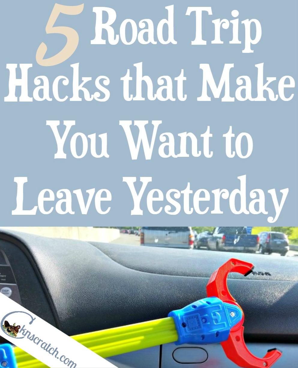 5 road trip hacks