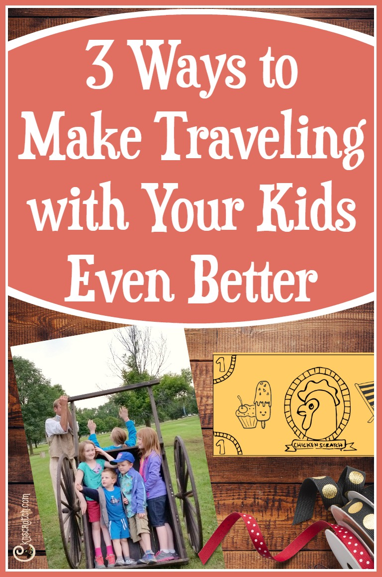 Great tips to make traveling with kids easier.