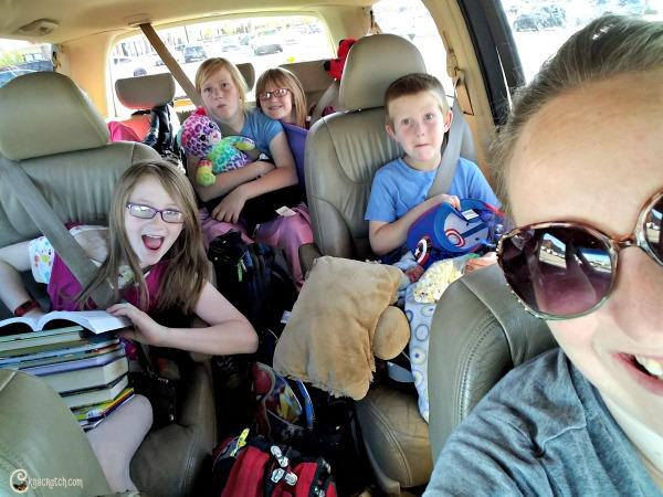 Ready for a roadtrip- big family money saving tips!