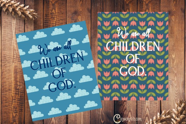 Free Children of God posters