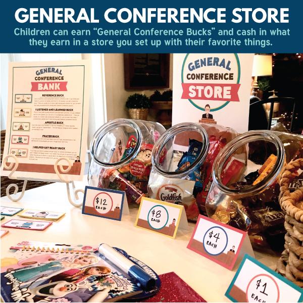 Fun idea! General Conference store