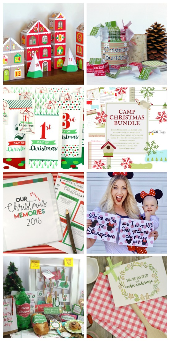 I love these Christmas printables!