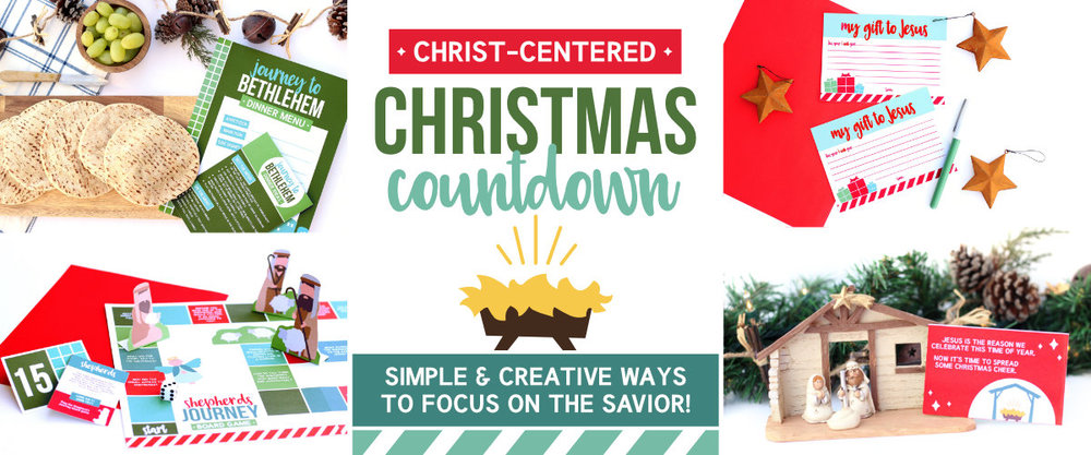 I love this countdown- Christ-Centered Christmas