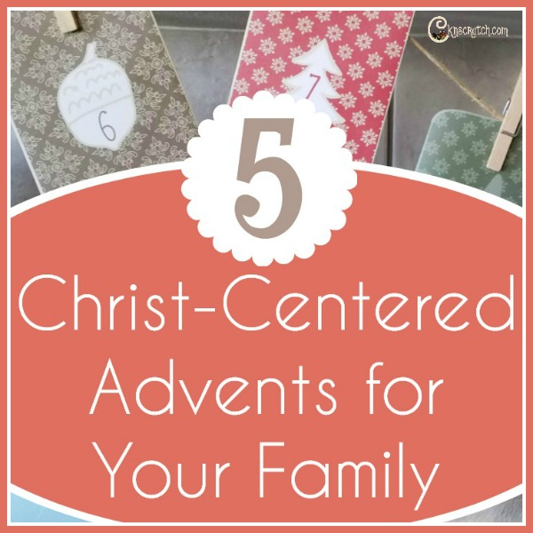 5 Christ focused Christmas Advents