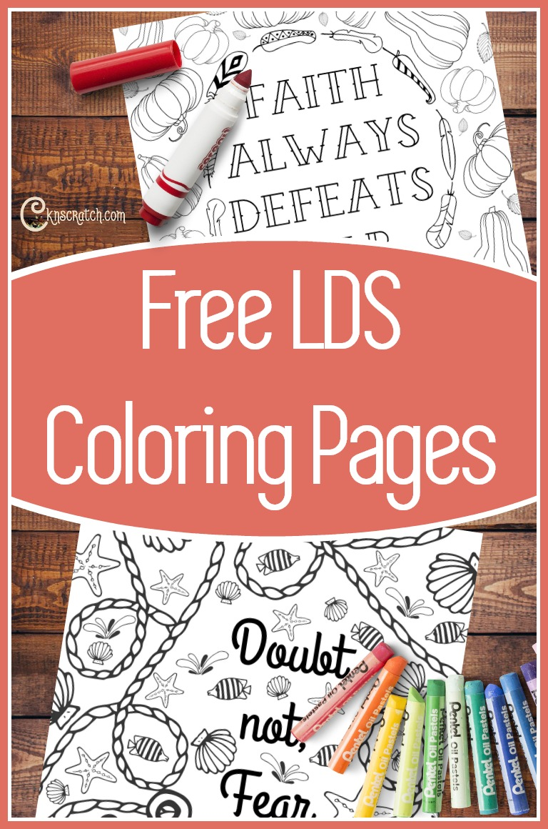 Love these General Conference quotes turned coloring pages! #LDS #LDSconf #LDScoloringpages