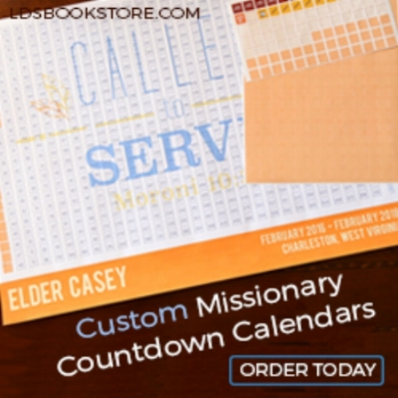 Great LDS missionary countdown