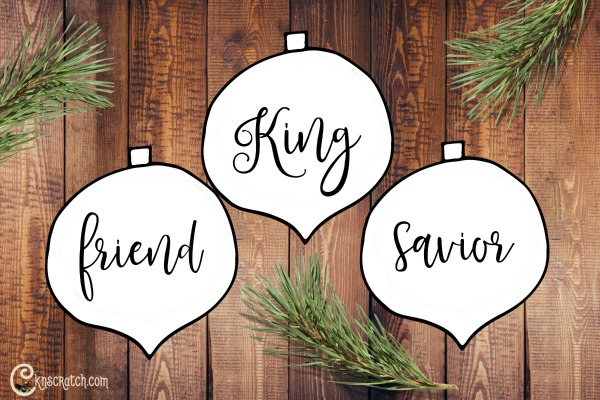 Ornaments to help teach Gordon B. Hinckley Chapter 24: The Atonement of Jesus Christ: Vast in Its Reach, Intimate in Its Effect #LDS #ReliefSociety