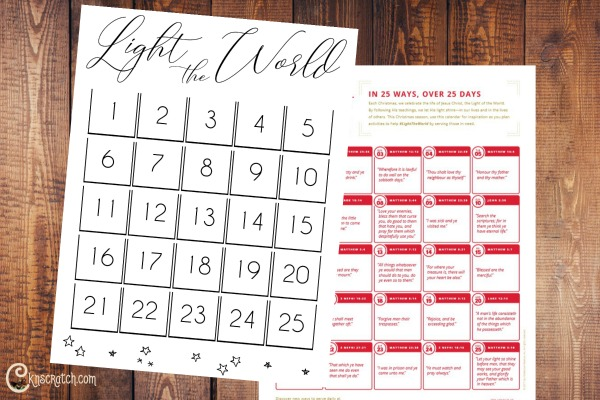 This is an easy way to have fun with #LIGHTtheWORLD this Christmas