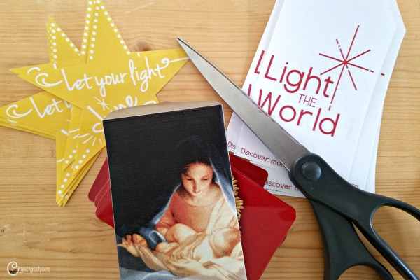 Gift tags and envelopes to help #LighttheWorld