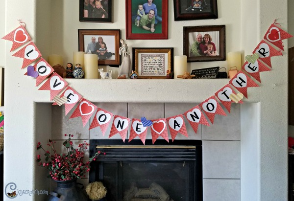 Cute Love One Another banner and service challenge!