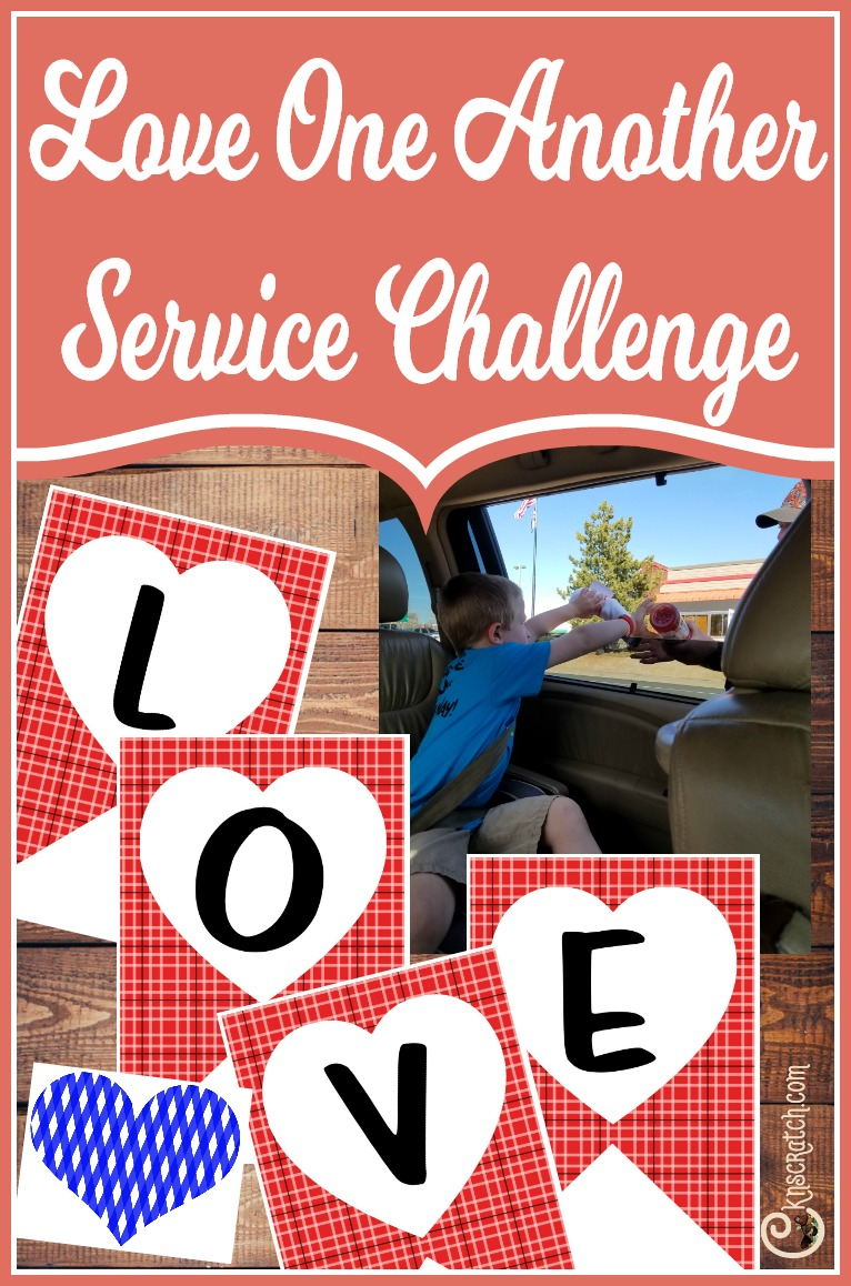 Great idea! Focus on expressing love through this service challenge #Valentines