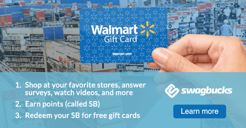 Earn free gift cards!