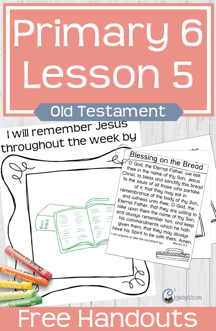 Love that this site has free LDS Primary handouts and lesson helps- great for teaching LDS Primary 6 Lesson 5: Adam and Even and Their Family Offered Sacrifices (Old Testament)