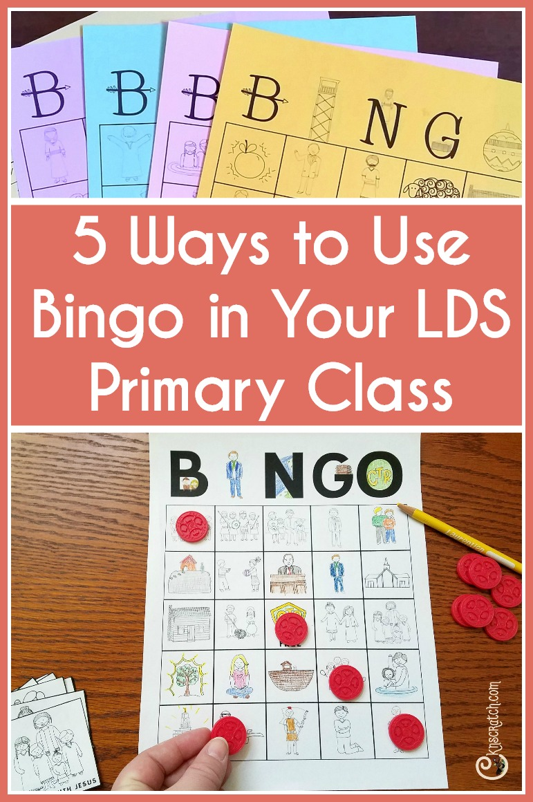 This is awesome! 5 fun ways to use Bingo in LDS Primary classes I want to try the last one.