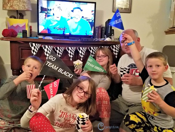 Relative Race party! I love this show on BYUtv and these are great free printables to use when watching! #BYUtv #LDS