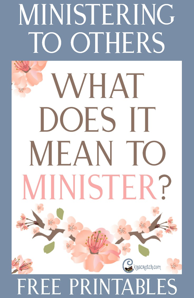 Great lesson helps and free handouts for teaching about what it means to minister. #LDS #Mormon #ReliefSociety #EldersQuorum