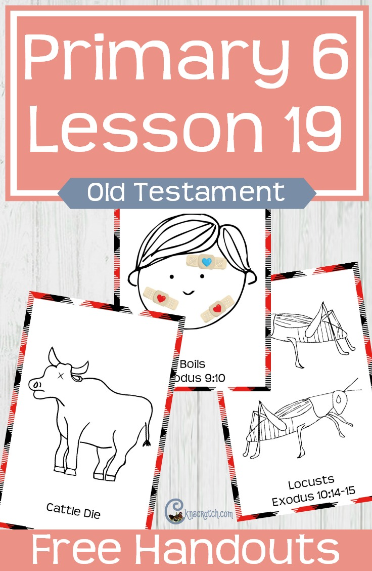 What a great game idea for teaching about Moses delivering the Israelites from bondage. (Primary 6 Lesson 19) #LDS #Mormon