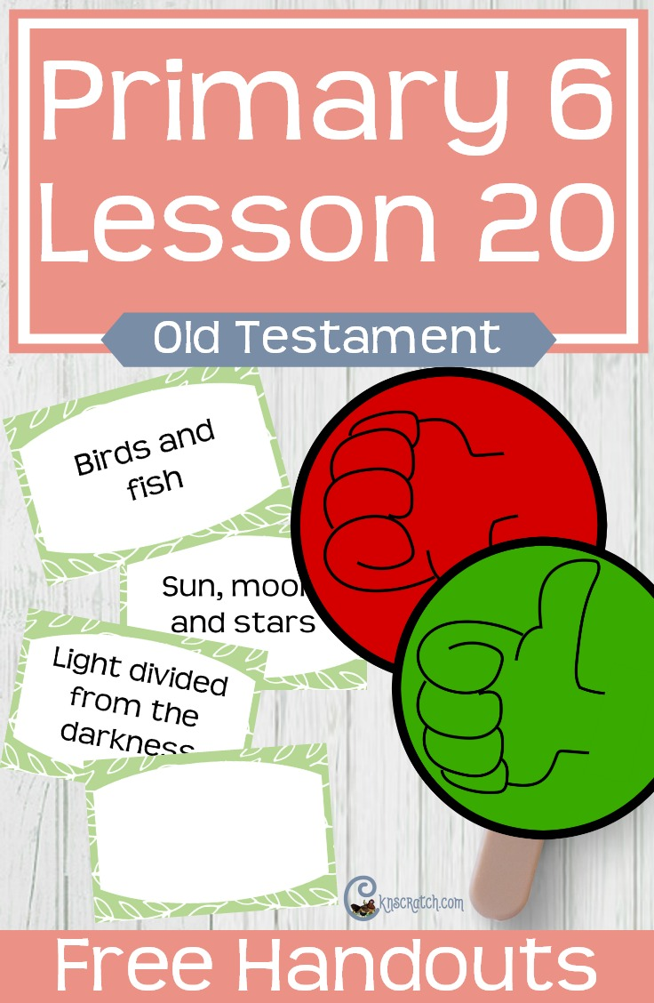 Great free handouts and ideas to help teach LDS Primary 6 Lesson 20: The Israelites Receive Food from Heaven