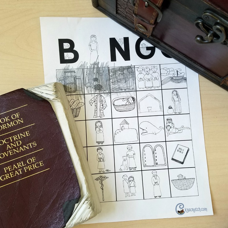 LDS bingo cards make great lesson additions and can even help with last minutes lesssons! #Mormon #LDS