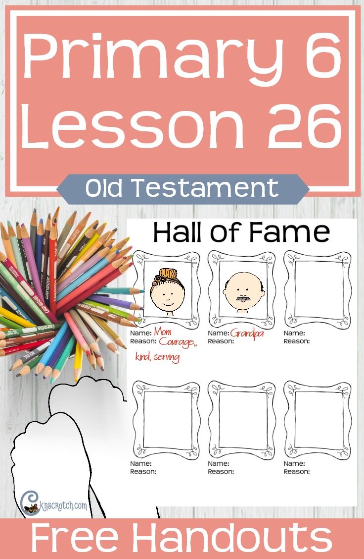 Great free handouts and ideas for teaching LDS Primary 6 Lesson 26: Ruth and Naomi #Mormon #LDS