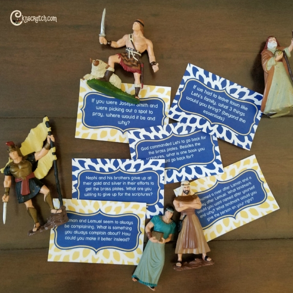 I love these Book of Mormon conversation cards #LDS #Mormon