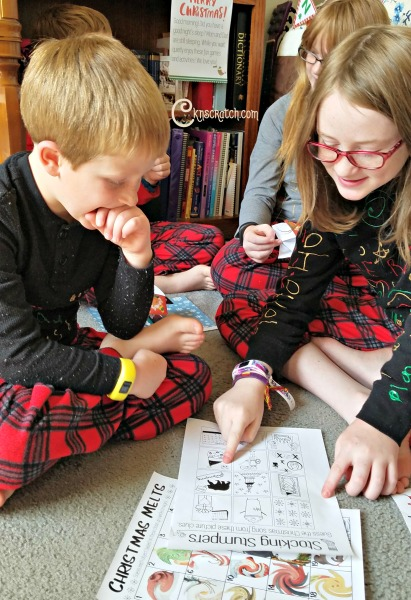 I love these Stocking Stumpers and Christmas games- such a great idea! #Christmas