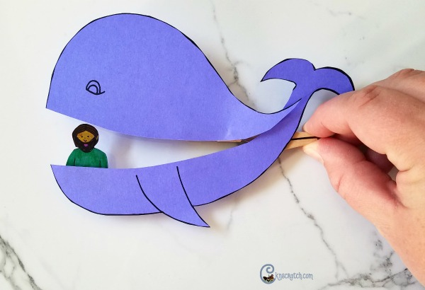 I love this Jonah and the whale craft! How fun