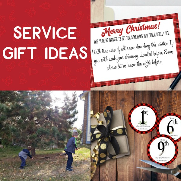 Yes- I would much rather give a gift of service at Christmas- so many great ideas and free printables. #Christmas