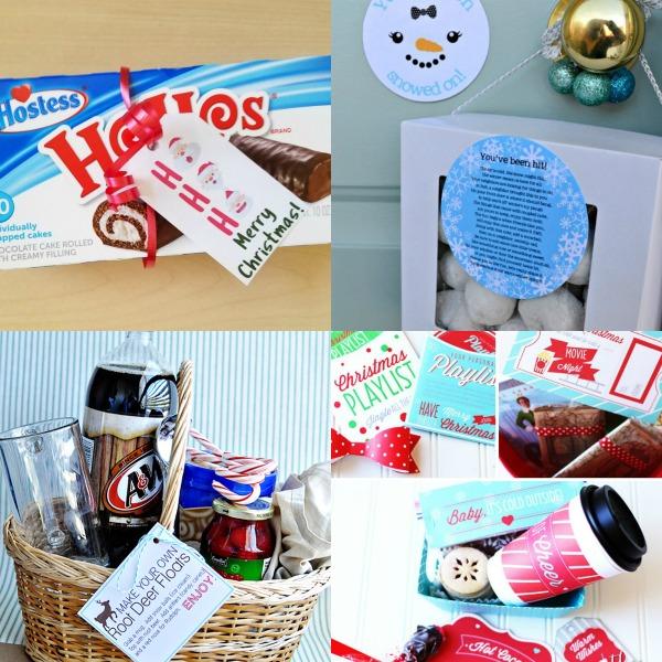 FREE printable tags for Christmas gifts- so great! #Christmas #Christmastags #gifttags #freegifttags #neighborgift