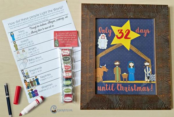 Love this nativity gift set!