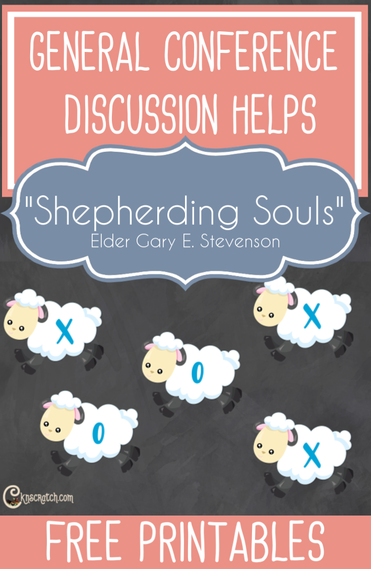 "Great ideas and questions for teaching ""Shepherding Souls"" by Elder Gary E. Stevenson #GeneralConference #LatterdaySaints"