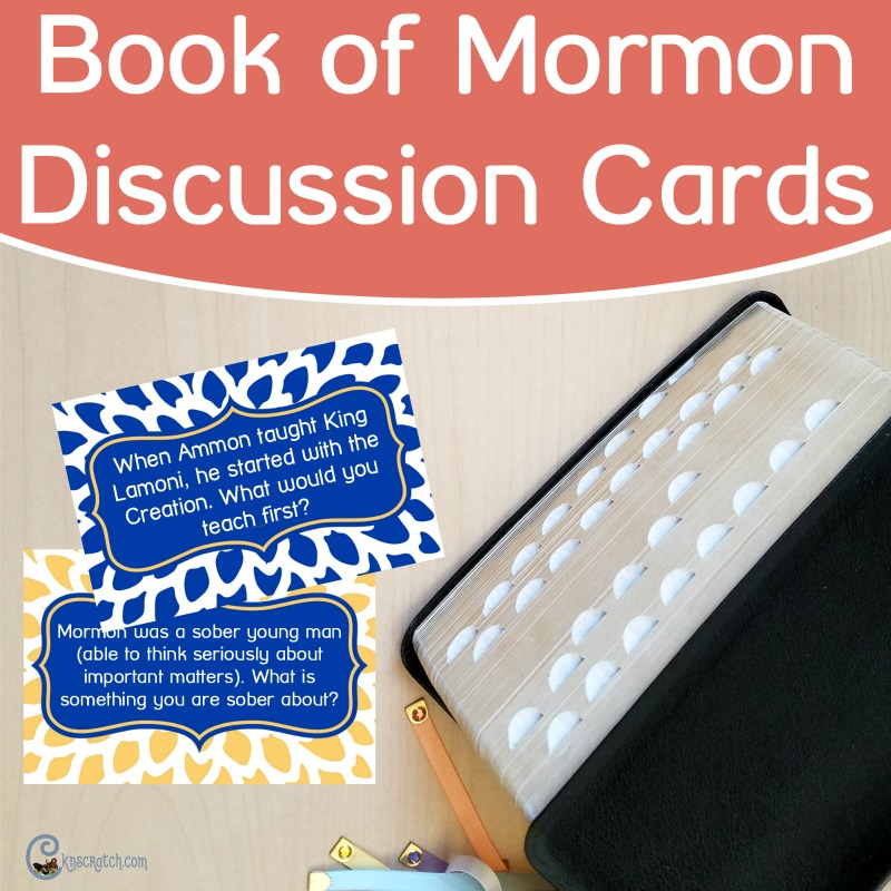 Book of Mormon Cards