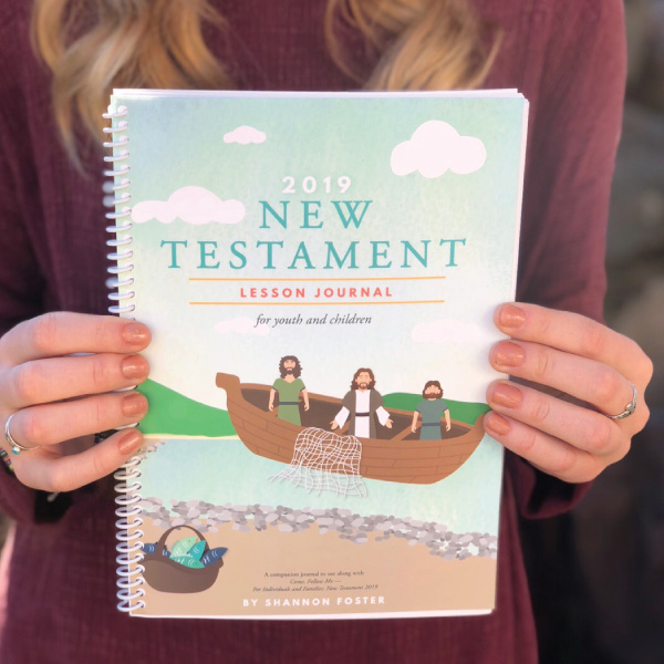 New Testament journal for youth and children