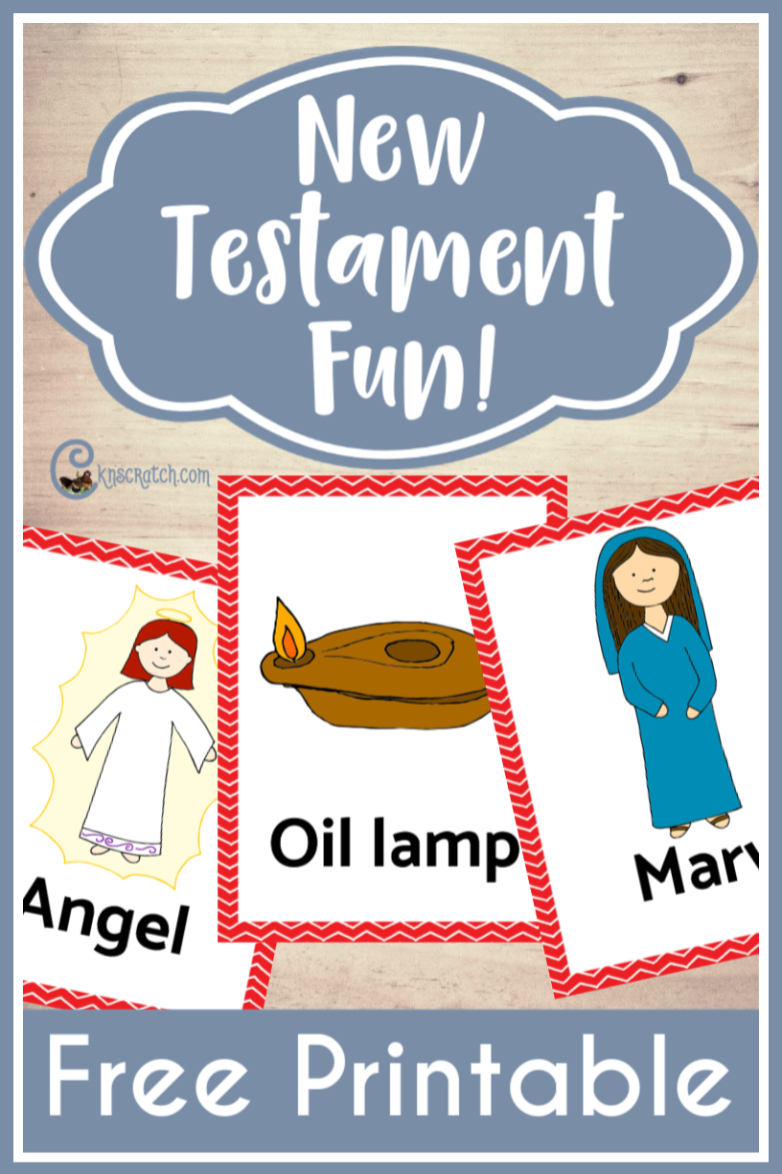 Love this! Play Headbanz, pictionary, grab bag, and more with these free New Testament cards! #LatterdaySaints