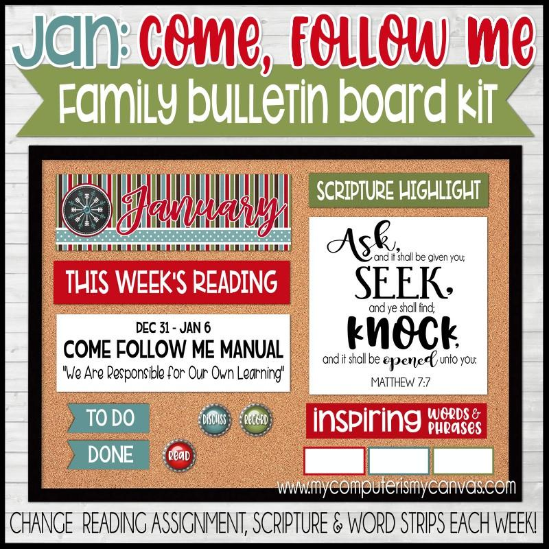 Bulletin board kit from My Computer is My Canvas