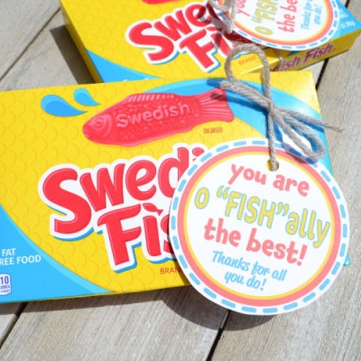 Swedish fish tag from Red H Designs