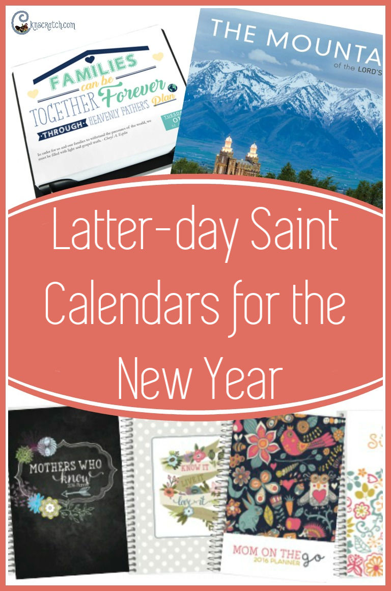 Oooo, I love these! Latter-day Saint calendars for 2019. I'm loving the ministering angel one #LatterdaySaint