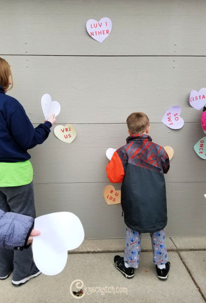 How fun is this! Latter-day Saint theme conversation hearts!