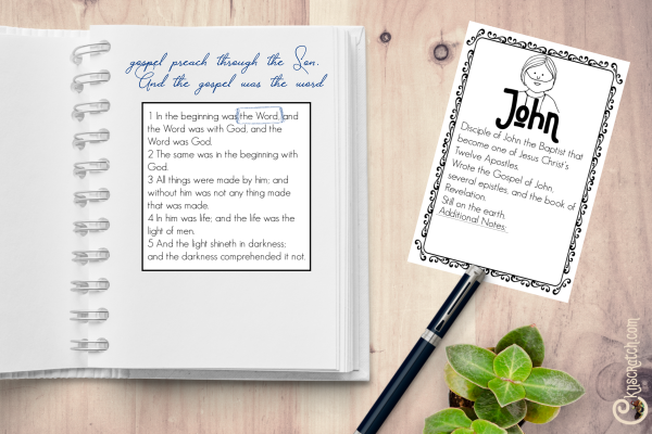 Love these free handouts and ideas for teaching John 1: We Have Found the Messiah #ComeFollowMe #teachlikeachicken