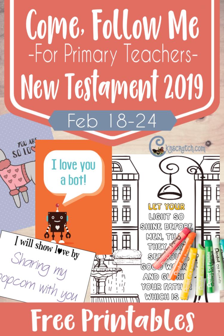 New Testament: Primary — Chicken Scratch N Sniff