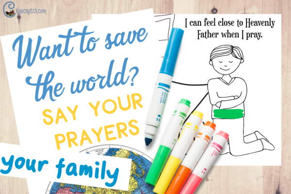 Free printables to help with learning about prayer and the sermon on the mount #teachlikeachicken
