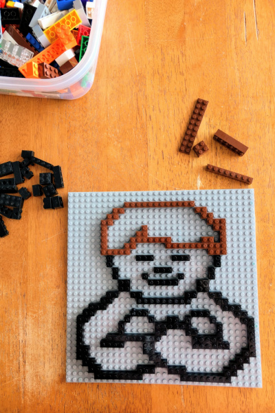 How fun! I love these religious themed Lego patterns to help teach the scriptures