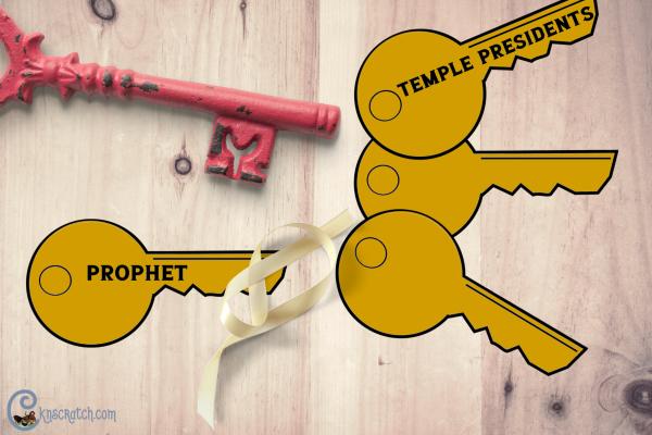 Great ideas to discuss priesthood keys #comefollowme #teachlikeachicken