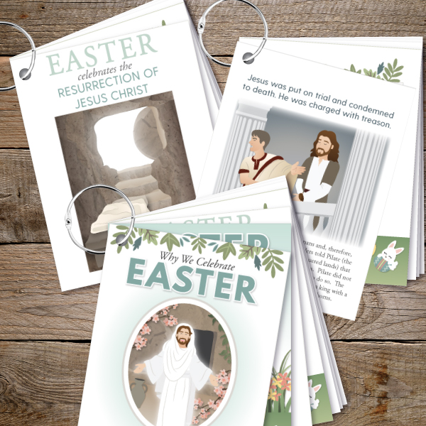 Easter flipbook from The Red Headed Hostess