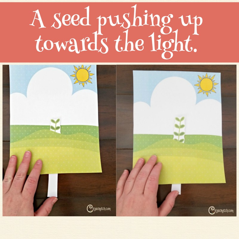 Faith is like a seed- love this!
