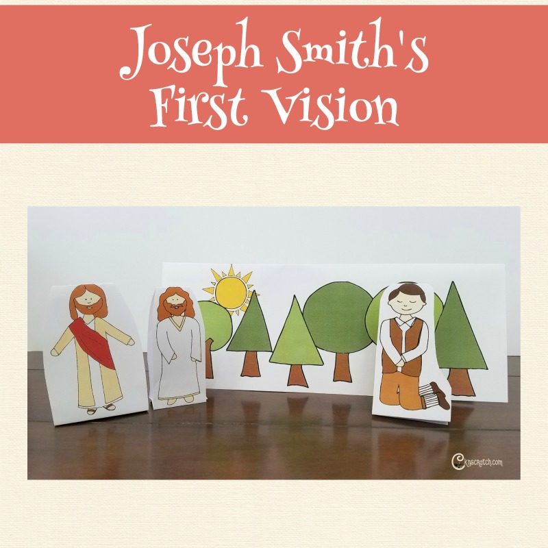 Love talking about the First Vision at Easter time! #teachlikeachicken #LDS #Easter