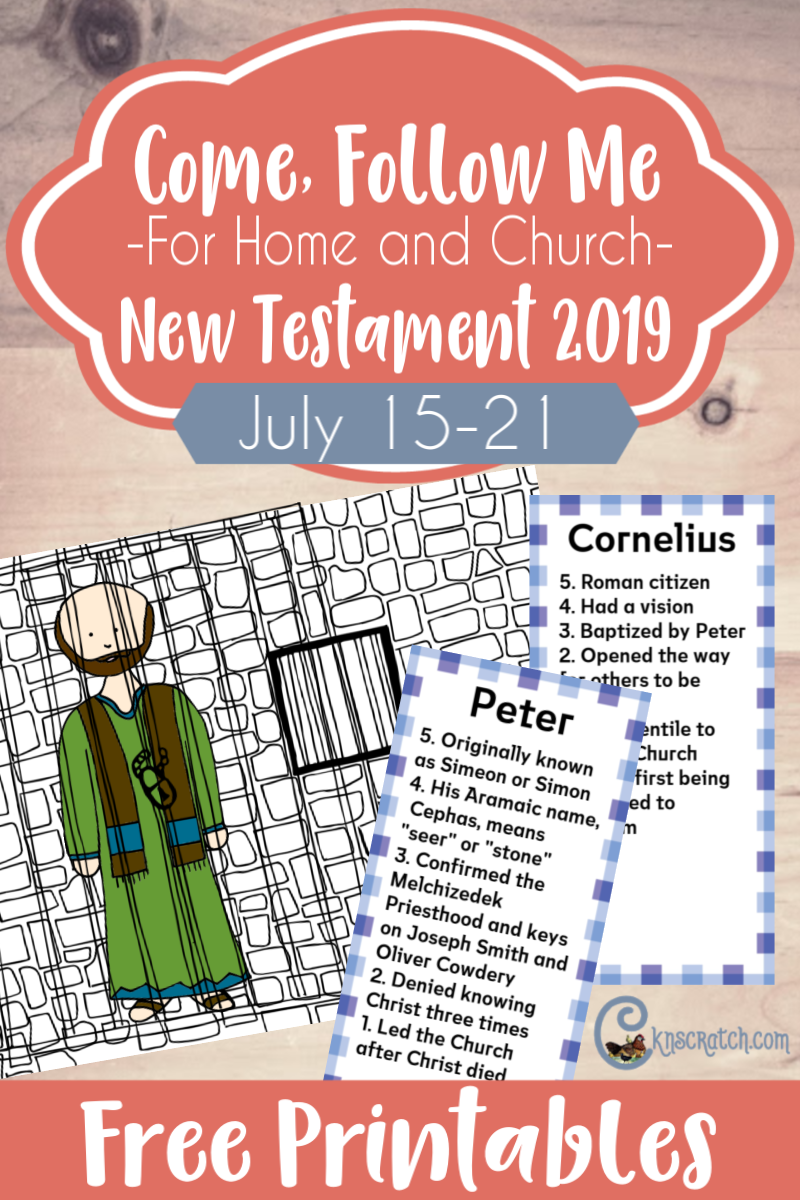 New Testament: Individuals and Families — Chicken Scratch N