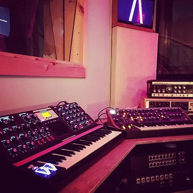 I love it when you call me big poppa.  #voyager #sub37 @moogsynthesizers